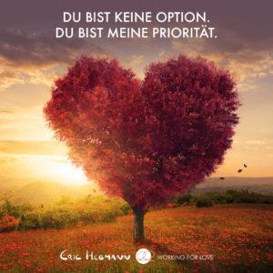 Du bist keine Option Du bist meine Priorität Eric Hegmann