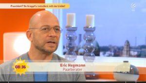 Eric Hegmann: Symphathie ist wichtiger als Aussehen!