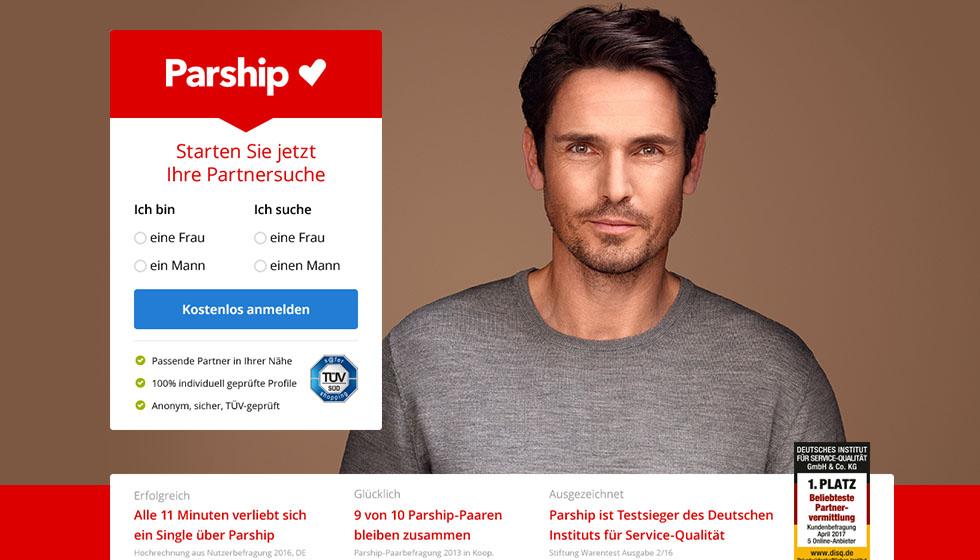0% sparen bei Parship-Premium-Mitgliedschaft